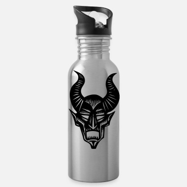 Horns horns - Water Bottle