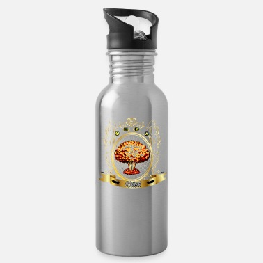 Atomic-power Atomic explosion - mushroom cloud - atomic power - Water Bottle