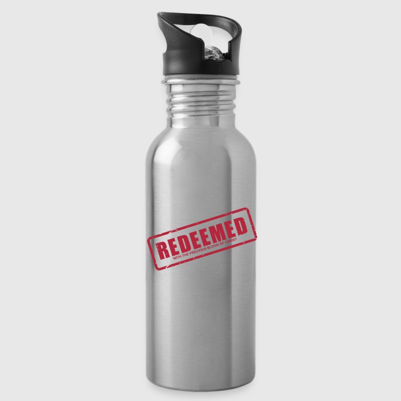Redeemed with the precious blood of Christ - Water Bottle