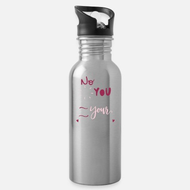 Rosary No one is you and that is your power rosa - Water Bottle