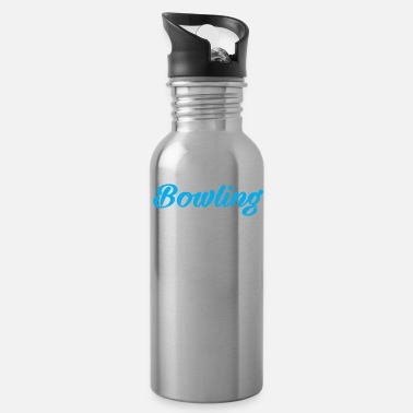 Strike Crazy Bowling Father - Water Bottle