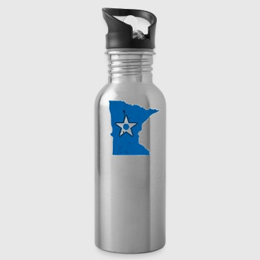 Retired Air Force Minnesota Air Force T Shirt - Water Bottle
