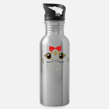 Bearded Floral Bearded Dragon Animal Halloween Costume Gif - Water Bottle