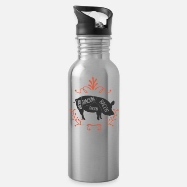 Bacon Bacon Bacon Bacon Bacon - Water Bottle