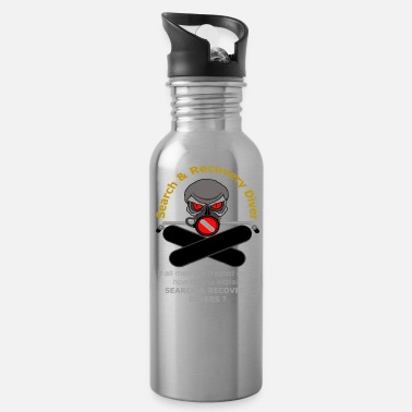 Steve Rogers Search And Recover Diver - All Men Are Not Equal - Water Bottle