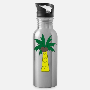 Palm Trees Palm tree - Water Bottle