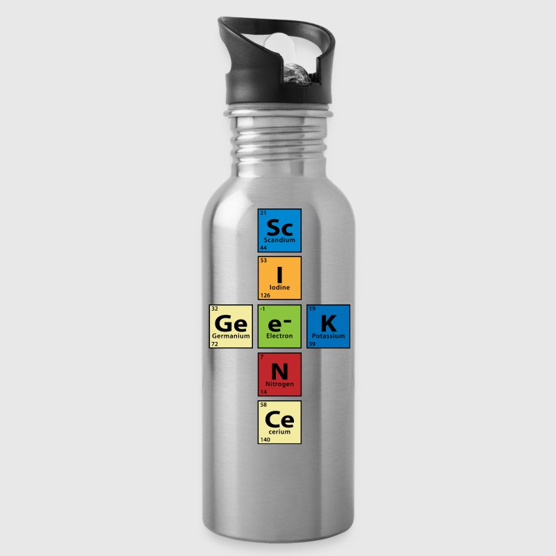 Science Geek - Water Bottle