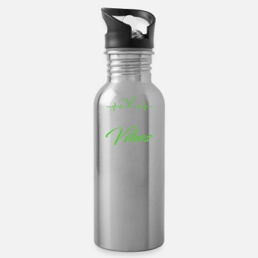 Vegan Vegan Vibes Veganism Vegans - Water Bottle