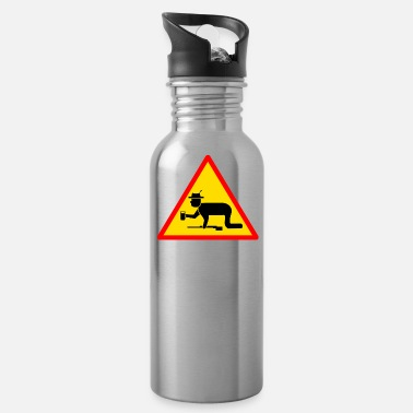 Allowed NO COWBOYS ALLOWED - Water Bottle