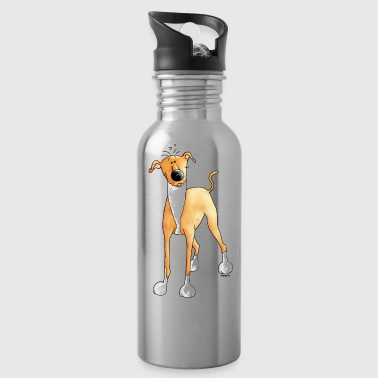 Funny Greyhound - Dog - Dogs - Water Bottle