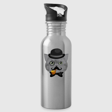 Like A Sir Cat / Katze - Water Bottle