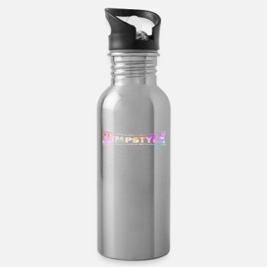 Jumpstyle LOVE TECHNO GESCHENK goa pbm JUMPSTYLE hippie - Water Bottle