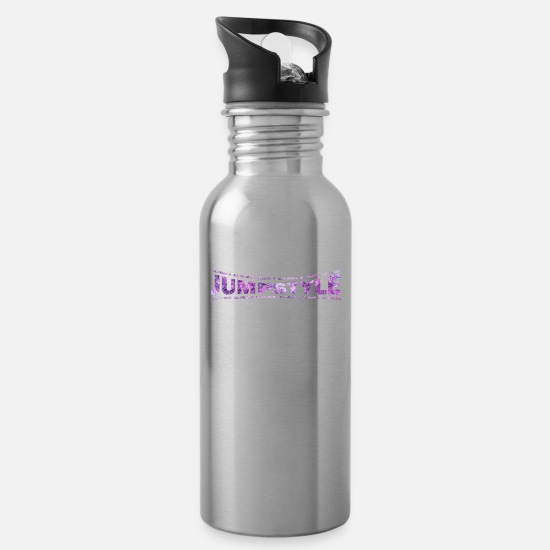Love Mugs & Drinkware - LOVE TECHNO GESCHENK goa pbm JUMPSTYLE goa - Water Bottle silver