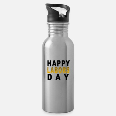 Labor Labors day - Water Bottle