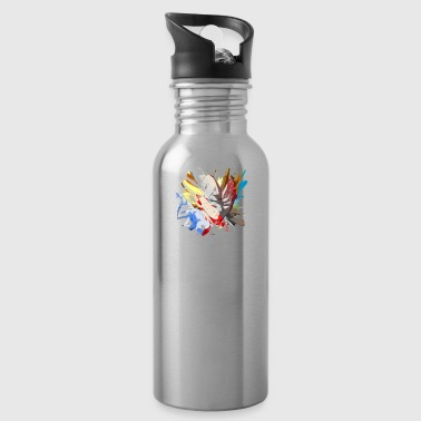 Saiyan T-Shirt Vageta Saiyan Dragon Ball High Quality - Water Bottle
