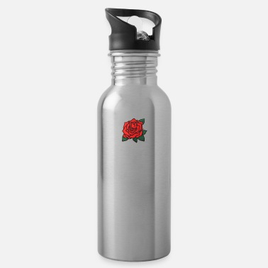 Red Rose Red Rose Listing Photo 2048x 2x - Water Bottle