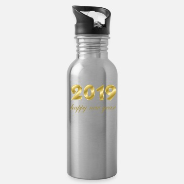 Production Year happy new year 2019 products - Water Bottle