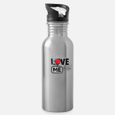 14th February Love Me - Water Bottle