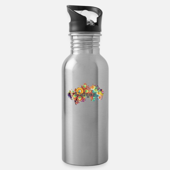 Unique Mugs & Drinkware - unique - Water Bottle silver
