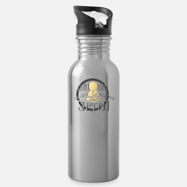 Taoism Relaxing Chill Bro Buddhism Taoism Religious Gift - Water Bottle