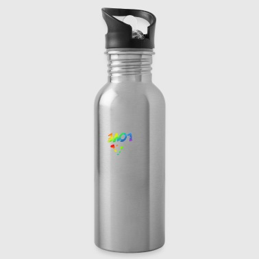 Revolution White - Water Bottle