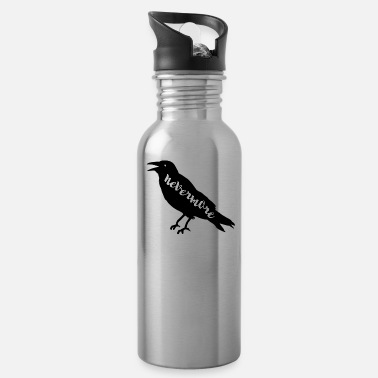 Raven Nevermore with Raven - Water Bottle