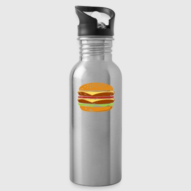 Double Time Burger christmas gift for real men - Water Bottle