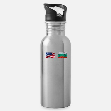Burgas Half Bulgarian Half American Totally Awesome - Water Bottle