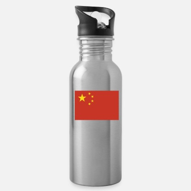 China Flag of China, Chinas flag, China flag, flag China - Water Bottle
