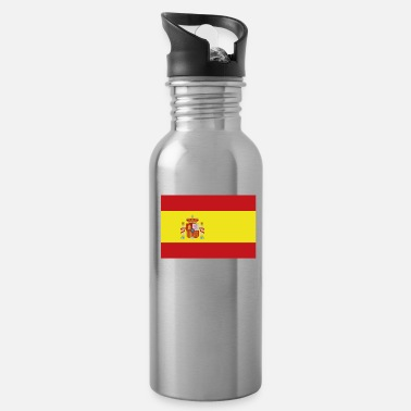 Spain Flag of Spain, Spains flag, flag Spain, Spain flag - Water Bottle