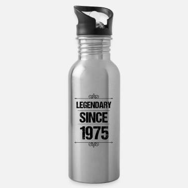 Since Legendary Since 1975 - Awesome since - Water Bottle