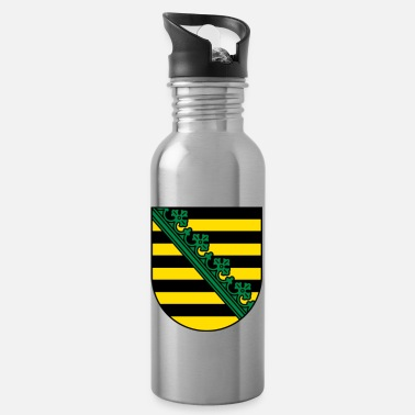 Saxony Saxony Coat Of Arms - Water Bottle