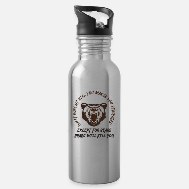 Kill You Bears will kill you - Water Bottle