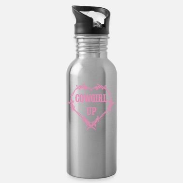 Cowgirl Cowgirl up - Water Bottle