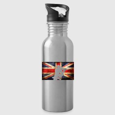 This is How britains Take a Knee Britain - Water Bottle