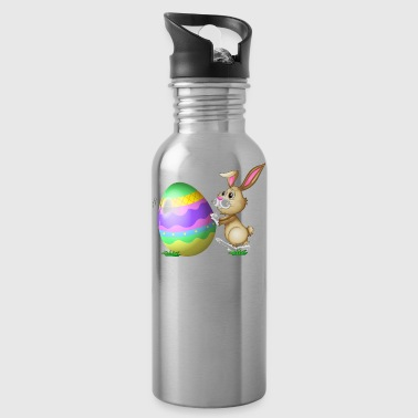 Easter Bunny Logo - Water Bottle