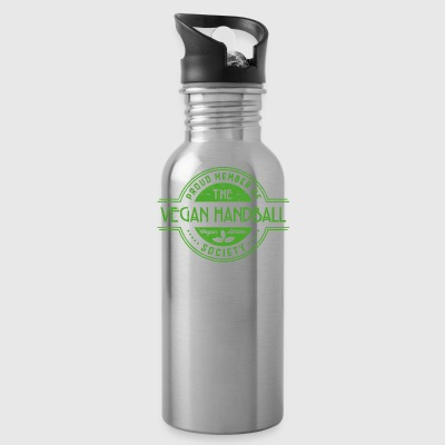 Vegan Handball Athlete Society Club Member Gift - Water Bottle