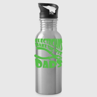 Electricians Make The Best Dads - Water Bottle
