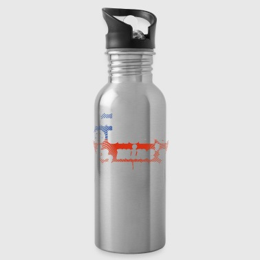 no matter cool uncle onkel gift Chile png - Water Bottle