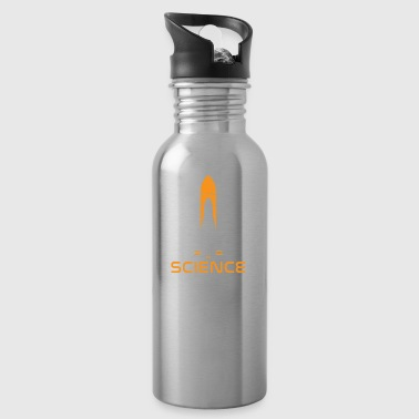 Rocket Science nerd physics funny gift - Water Bottle