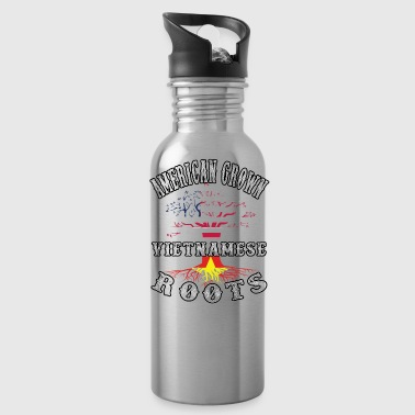 Vietnamese Roots american Grown - Water Bottle