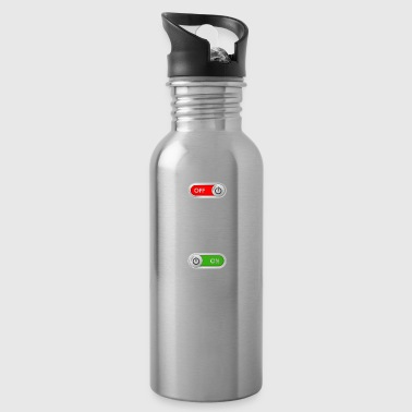 JOB OFF mountain hiking sport ON gift - Water Bottle