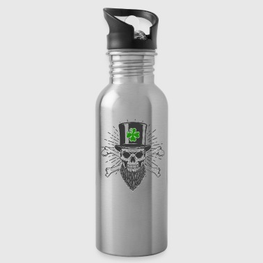 Saint Patrick Is My Homeboy St Patricks Day Clover - Water Bottle