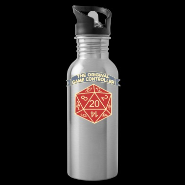 D20 The Original Game Controller Dice - Water Bottle