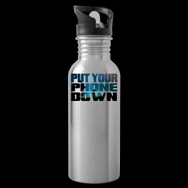 Beautiful Universe Motivational Shirt Put Your Phone Down - Water Bottle