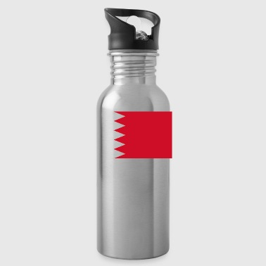 Bahrain country flag love my land patriot - Water Bottle