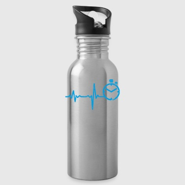 gift heartbeat sprint - Water Bottle