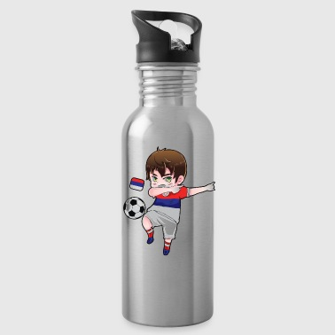 Dab Dabbing Soccer Boy World Cup Russia Gift - Water Bottle