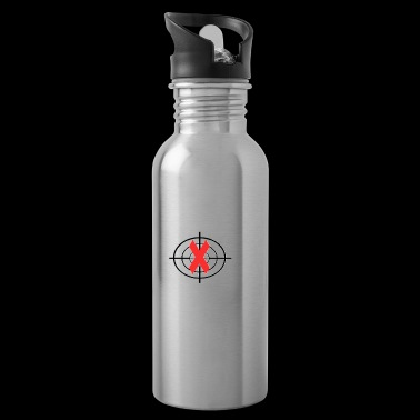 Stop Kill Rhino Protect Rhinoceros Souvenir Gifts - Water Bottle