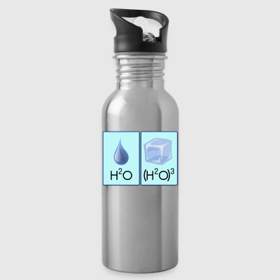 H2O Cubed - Water Bottle